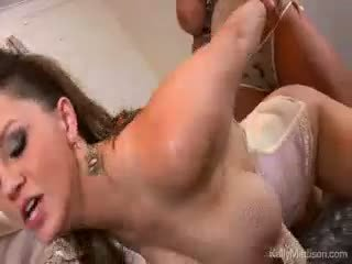 Big Titty Lovers Wet Dream Cum True With Kelly Madison
