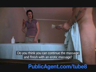 Publicagent jebanie the masseur milfka