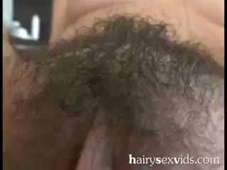 Sexy sem depilar molhada conas fodido