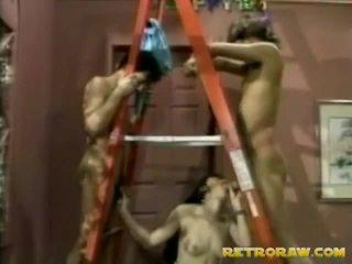bercinta pada tit, porn retro, vintage seks