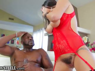 Lexington steele gives enorme polla a karlee grey