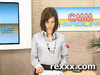 Notizie reporter gets bukakke durante suo lavoro (maria ozawa bu