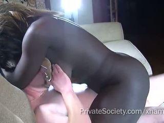 rakade fitta, cock sugande, blandras