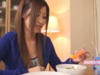 נחמדה seductive קוריאני בייב מזוין
