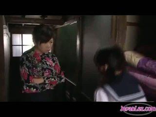 jaapani, suudlemine, lesbian