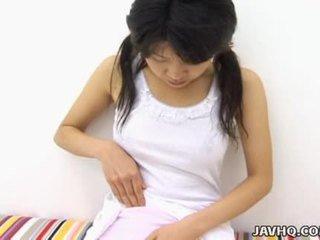 Haruka aida karštas azijietiškas paauglys solo