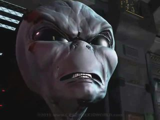 3D Animation Alien Abduction 1