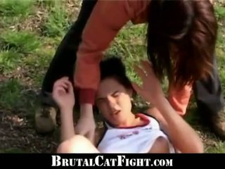Pervert Owner Mades Two Girls Catfight...