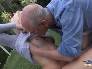 65 glassed 할아버지 smash 신선한 meat hole 의 s