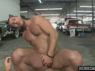 Horny friends fucking in public
