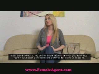 Femaleagent великий breast кастинг