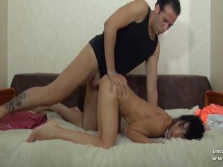 Skinny Amateur French Mature Hard Sodomized in POV: Porn 17