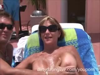 Cum Fun in Sun-pussy Mouth Milfs-cougars Suck Cum From Cocks Young and Old Video