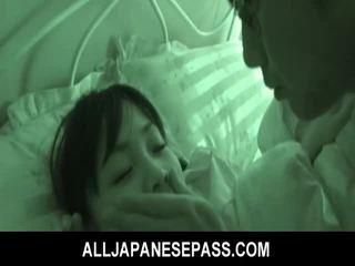 ישן מלאך hikaru momose has הפתעה מזיין