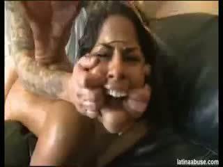 brunette, blowjob, latin