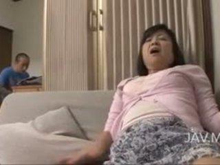 giapponese, masturbazione, nylon