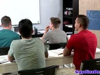 น้ำแตก loving คุณครู dominated ใน ชั้น