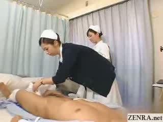 日本語 看護師 practices 彼女の 手コキ テクニック