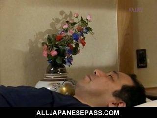 japonais, oriental, mature
