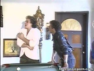 Billiard Make Love For A Tomentose Lady