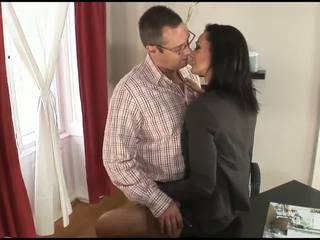 Horny business whore Cameron Cruise needs her pussy to be fucking fixed!
