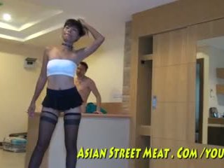 Anális hook mert ázsiai maket meat