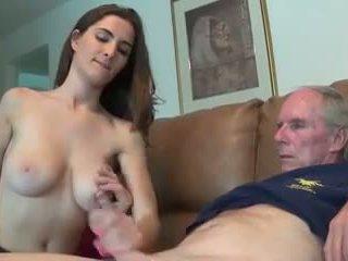 velká prsa, old + young, handjobs