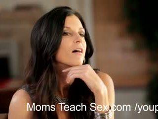 hot mom, dreier, mama