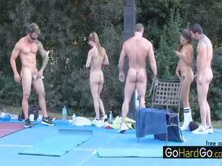 pekný skupinový sex, online veľké prsia nový, ideálny doggystyle čerstvý