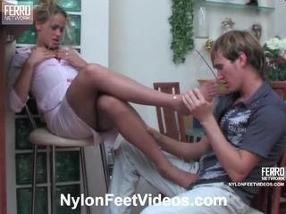 foot fetish, σέξι πόδια, καλσόν