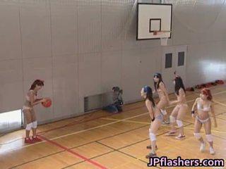 Bola keranjang pemain gadis fuck