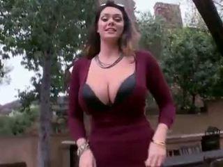 Alison tyler - enorme natural tetas obter fodido