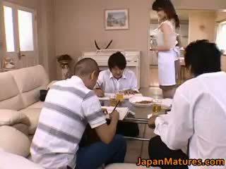 briunetė, japonijos, grupinis seksas