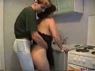 femmes au foyer, mature, cuisine