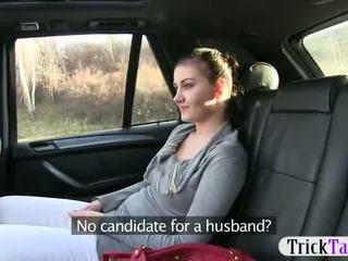 חרמן gal passenger pounded ב the taxi recorded ב camera