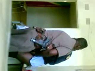 afrikkalainen, yhdenmukainen, cop