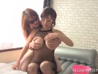 Azusa nagasawa has vyrobený láska podle ji dlouho haired bf indoors