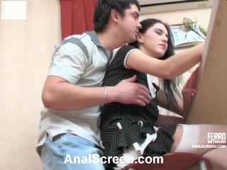 Judith ja adam vehement anaali video-