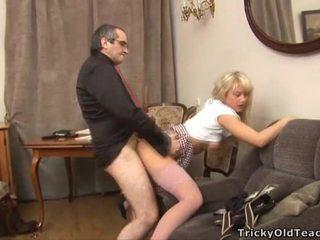 סקס lesson עם חרמן מורה