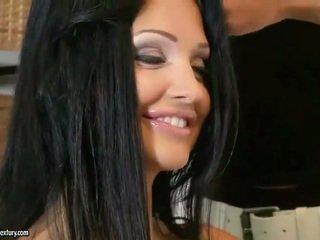 ωραίος hardcore sex πλέον, πραγματικός μεγάλα βυζιά περισσότερο, ποιότητα πορνοστάρ Καλύτερα