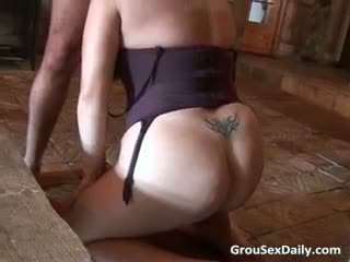 Two Chubby Mature Whores Getting Fucked Part5