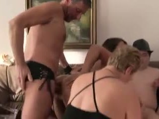 German amateur orgy with old and young