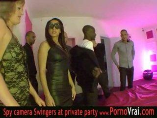 Frances partener schimbate petrecere în o privat club parte 03