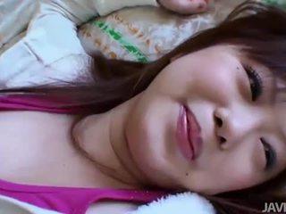 Αξύριστο ασιάτης/ισσα μωρό creampied