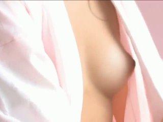 азиатски момичета, малки цици, японските момичета