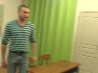 Teacher shows student how fuck should be done