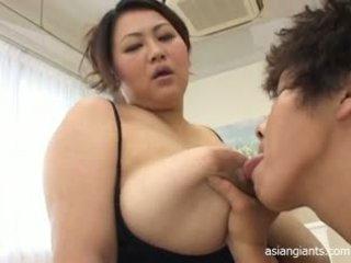 japonec, velká prsa, bbw
