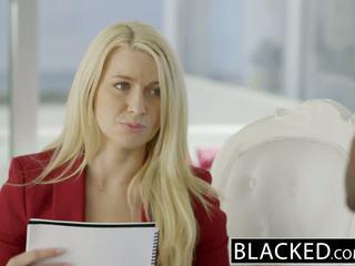 Blacked бізнес білявка anikka albrite дупа трахкав по a bbc