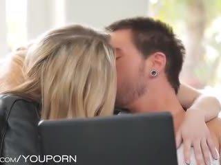 tenåringer, kyssing, tenåring