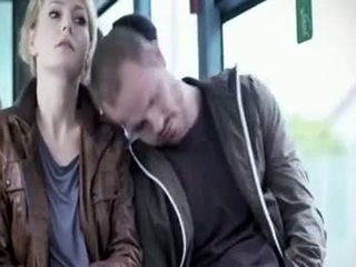 Martina Hill - Boob Groped In Bus